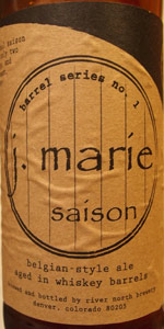 Barrel Series No. 1:  J. Marie - Whiskey Barrel-Aged