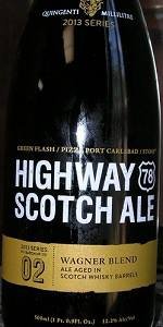 Green Flash / Pizza Port Carlsbad / Stone Highway 78 Scotch Ale - Whisky