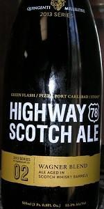Stone / Green Flash / Pizza Port  Highway 78 Scotch Ale - Scotch Whiskey Ba