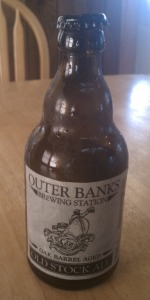 Oak Barrel Aged Old Stock Ale