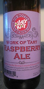 Work Of Tart Raspberry Ale