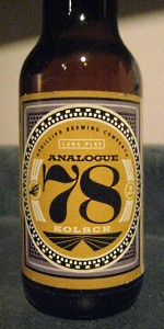 Analogue 78 Kolsch