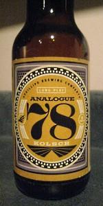 Analogue 78 Kolsch