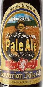 First Bavarian Pale Ale