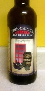 Window Pane Series Blackberries