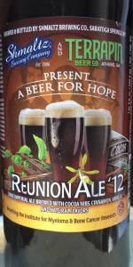 Terrapin Reunion Beer 2012