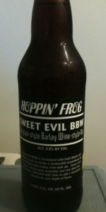 Sweet Evil Barley Wine