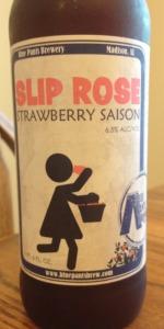 Slip Rose Strawberry Saison