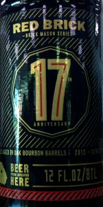Red Brick Brick Mason Series #3: 17th Anniversary Ale