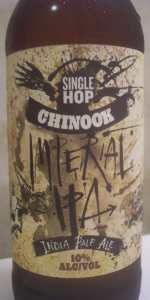 Single Hop Imperial IPA (Chinook)