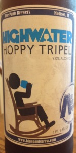 Highwater Hoppy Tripel