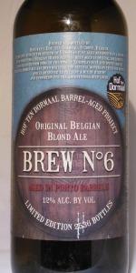 Barrel-Aged Project Brew No. 6 - Porto
