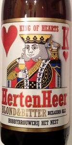 King Of Hearts / Hertenheer Blond & Bitter