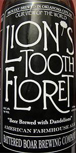 Lion's Tooth Floret