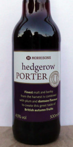 Morrisons Hedgerow Porter