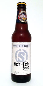 Scratch Beer 73 - 2012 (Fest Lager)