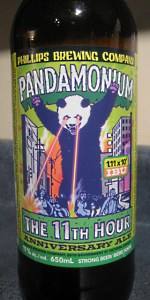 Pandamonium - The 11th Hour Anniversary Ale