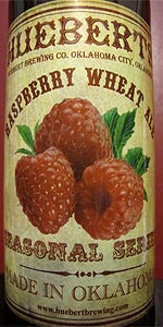Hueberts Raspberry Wheat Ale