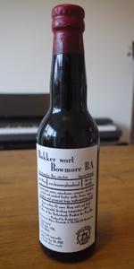 Bakker Wort Bowmore BA