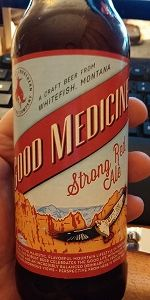 Good Medicine Strong Red Ale