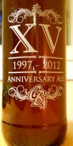CB's XV Anniversary Ale