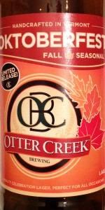 Otter Creek Oktoberfest Lager