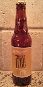 Three Tree American Rye