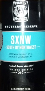 SXNW (Brothers' Reserve Series)