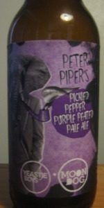Peter Piper's Pickled Pepper Purple Peated Pale Ale