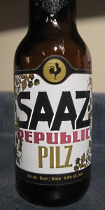 Big Rock Saaz Republic Pilz