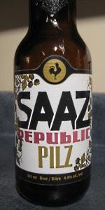 Big Rock Saaz Republic Pilz
