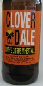 Ruth's Citrus Wheat Ale
