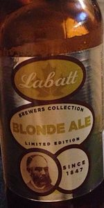 Labatt Brewers Collection Blonde Ale