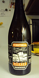Territorial Reserve Oak Aged Barleywine Ale