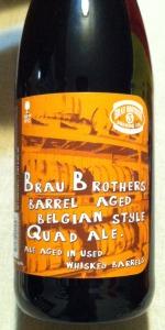Barrel Aged Belgian Style Quad Ale