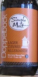 Simple Malt Doppelbock