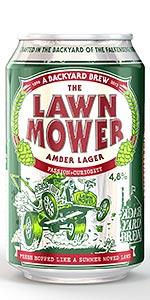 Backyard Brew Lawn Mower