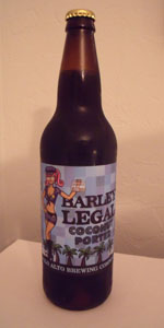 Barley Legal Coconut Porter