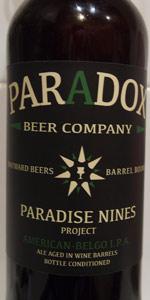 Paradies Nines I.P.A. Project: American-Belgo I.P.A.