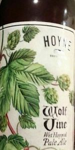 Wolf Vine Wet Hopped Pale Ale