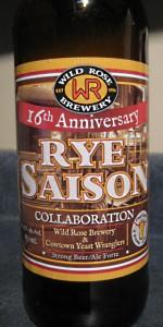 Rye Saison