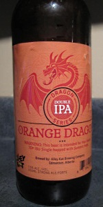 Dragon Series Orange Dragon Double IPA