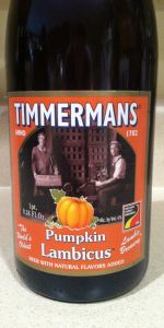 Timmermans Pumpkin Lambicus