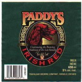 Trafalgar Paddy's Irish Red Lager