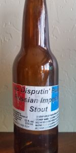Michigan Brewing No Disput'n Putin Russian Imperia