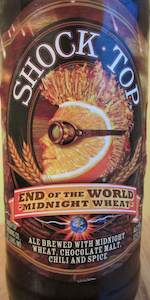 Shock Top End Of The World Midnight Wheat