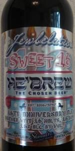 He'Brew Jewbelation Sweet 16 Anniversary Ale