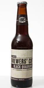 Brewers' Cut Black Quadrupel