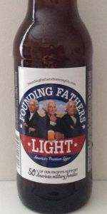 Founding Fathers Light Beer