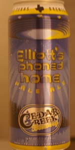 Elliott's Phoned Home Pale Ale